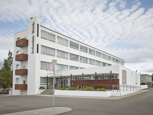 Icelandair Hotel Akureyri is a 90 room hotel in the heart of the town.