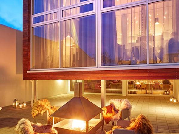 Relax at the beautiful Icelandair Hotel in Akureyri, north Iceland.