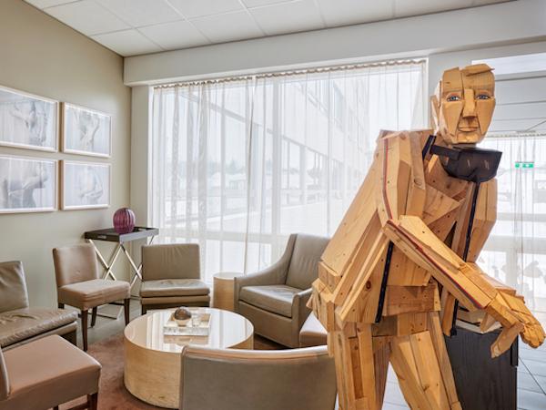 Icelandair Hotel Akureyri has unusual and interesting examples of local art.
