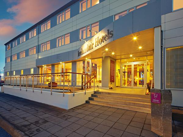 Icelandair Hotel Herad is a large hotel in East Iceland.