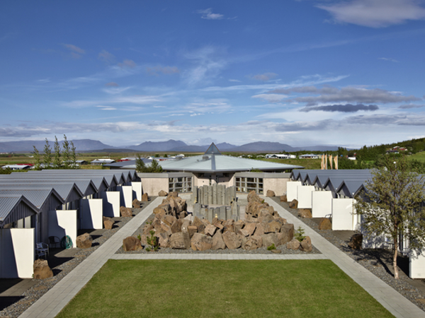 All rooms at Icelandair Hotel Fludir have full access to the gardens.