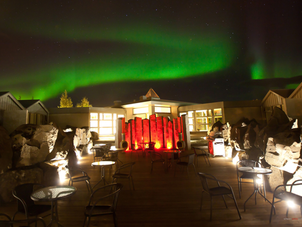 Icelandair Hotel Fludir is a great place from which to watch the Northern Lights.