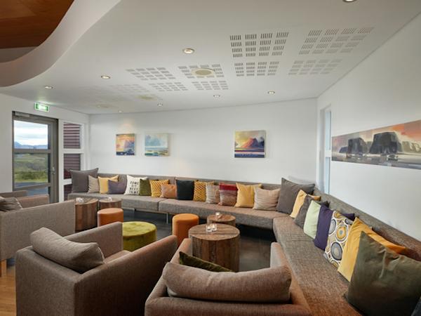 Icelandair Hotel Fludir has a comfortable relaxation area.