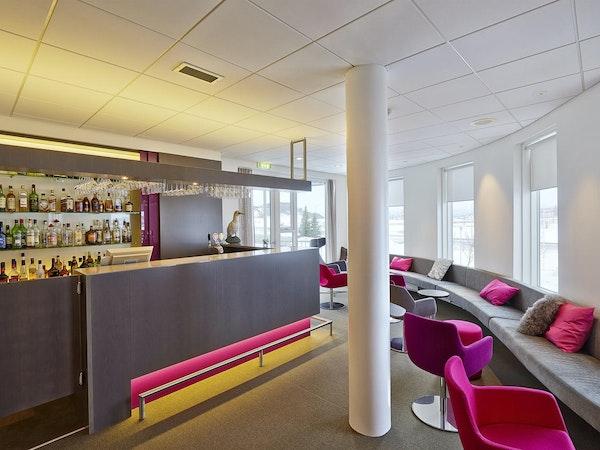 Icelandair Hotel Herad has a modern, comfortable bar.