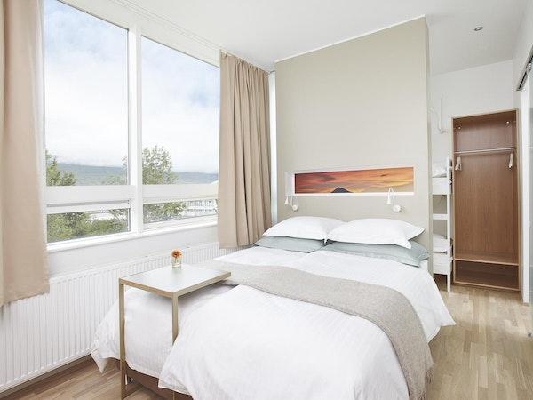 Icelandair Hotel Akureyri has fifth floor rooms with lovely views.