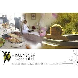 Hraunsnef sveitahótel logo