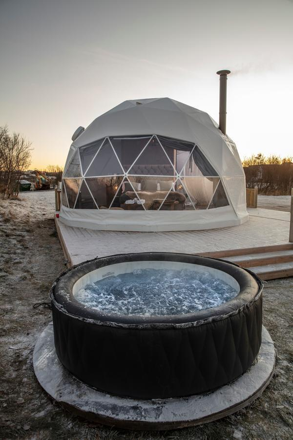 Reykjavik Domes provide a glamping experience.