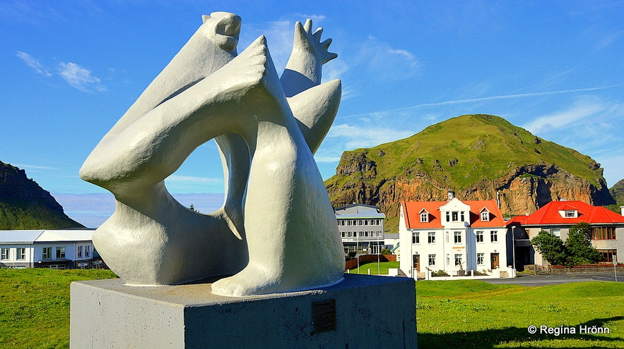 Westman Islands South-Iceland - artwork by Ásmundur Sveinsson