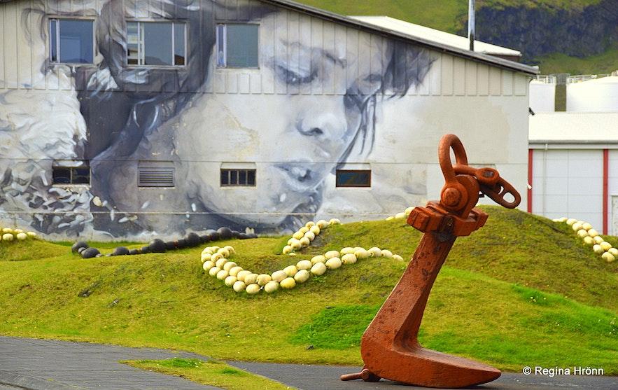 Westman Islands South-Iceland -Artwork by Guido van Helten