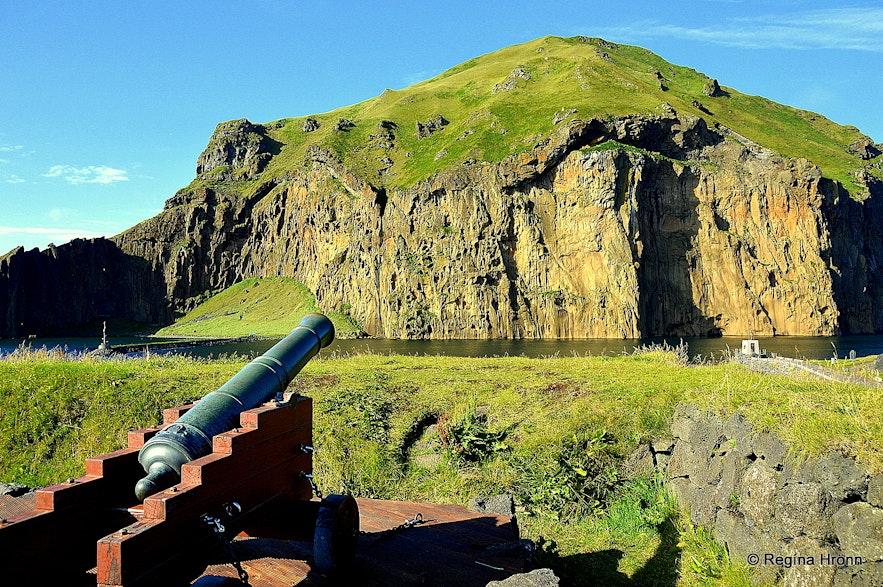 Westman Islands South-Iceland - Virkið the fortress