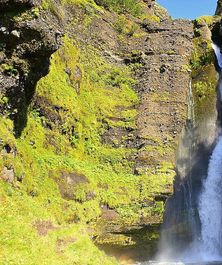 Gluggafoss waterfall S-Iceland
