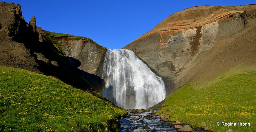Skeifárfoss in North-Iceland