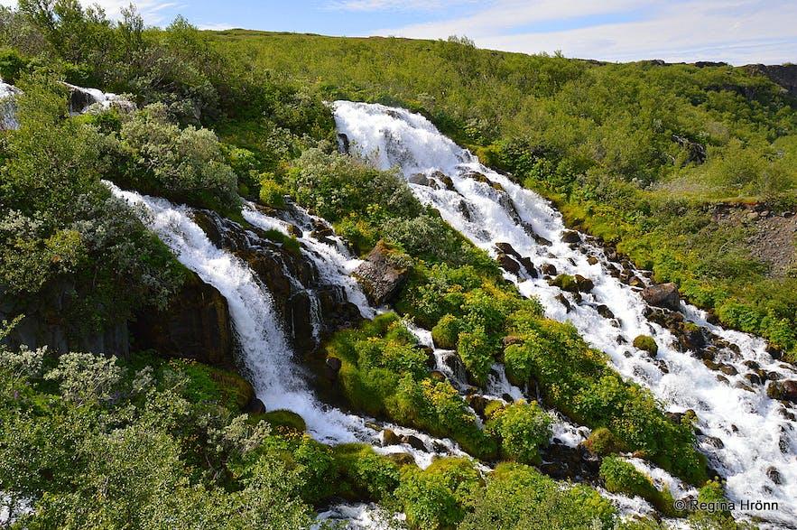 Hólmárfossar waterfalls