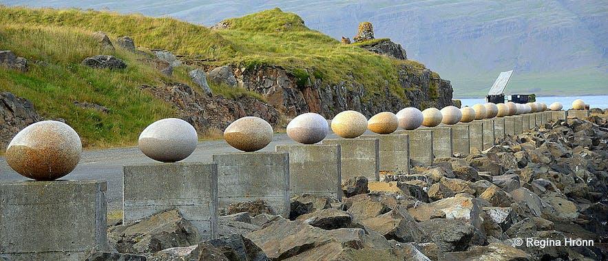 The eggs at Djúpivogur East-Iceland
