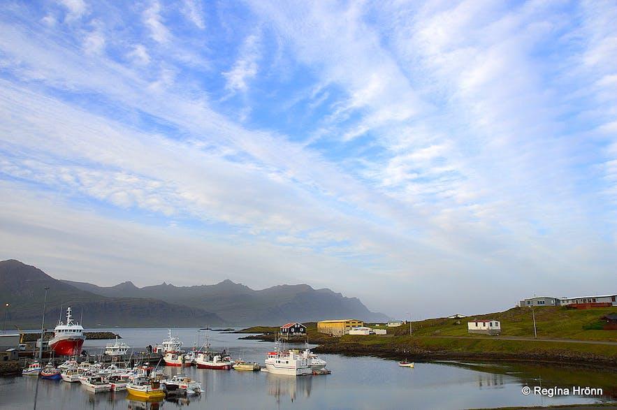 Djúpivogur harbour in East-Iceland