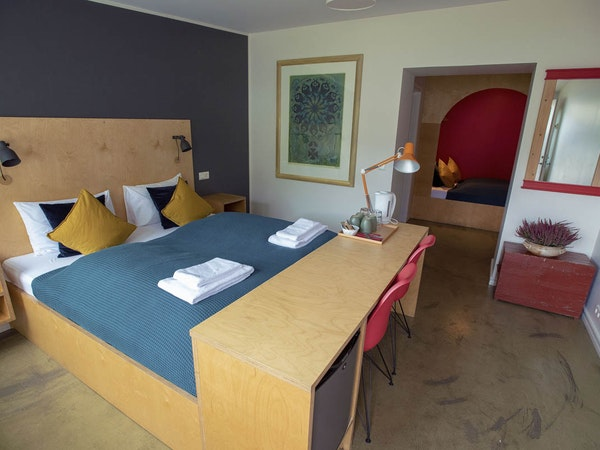 Hotel Aldan has apartments as well as rooms.