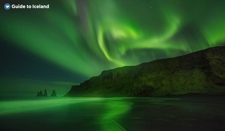 Iceland's aurora borealis are its most famous and magnificent winter attraction.