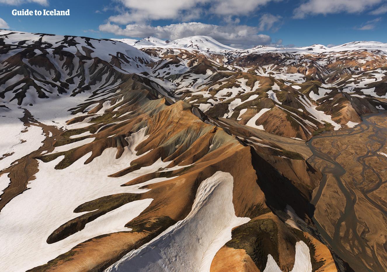 Landmannalaugar boasts stunning geological formations