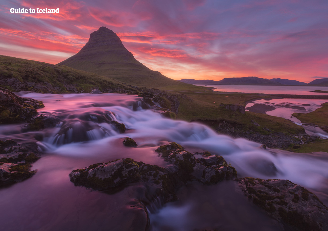 Kirkjufell and the water Kirkjufellsfoss are two magical attractions on Iceland's Snaefellsnes Peninsula.