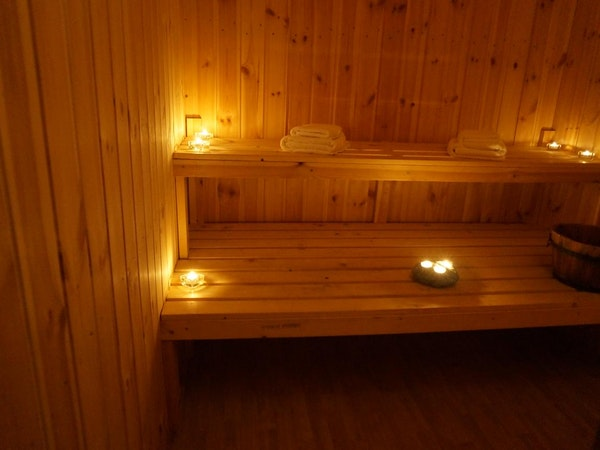 Hotel Stadarborg has a sauna to relax in.