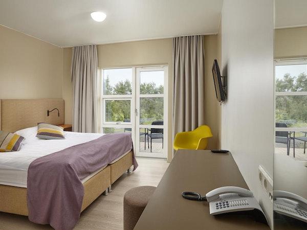 Icelandair Hotel Hamar has luxurious King suites.