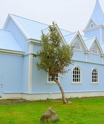 Seyðisfjörður church