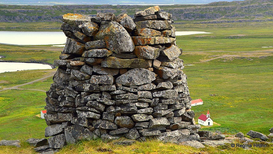 Grettisvarða cairn