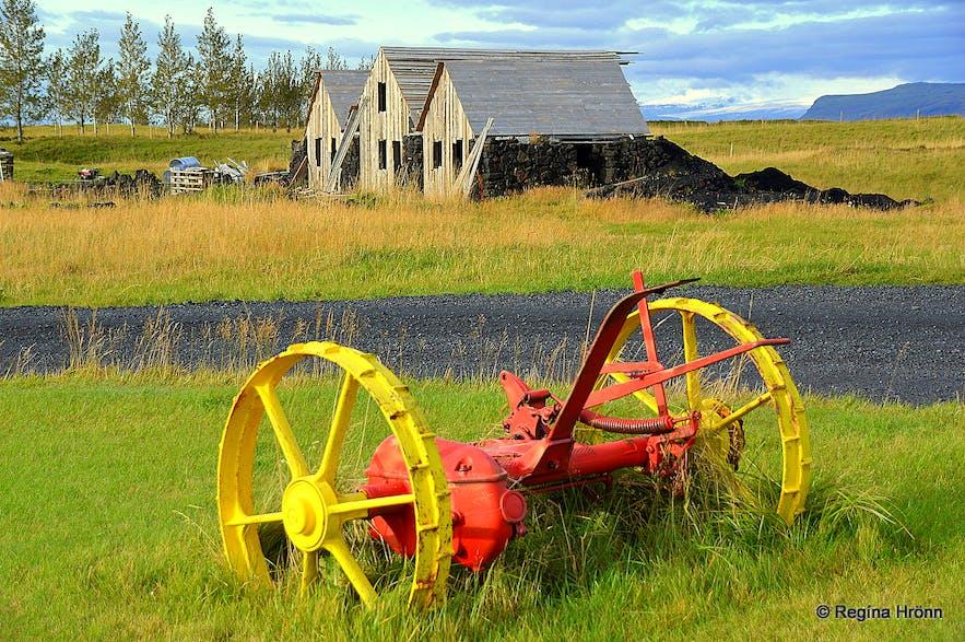 Turf house at Efri-Vík Hotel Laki South-Iceland