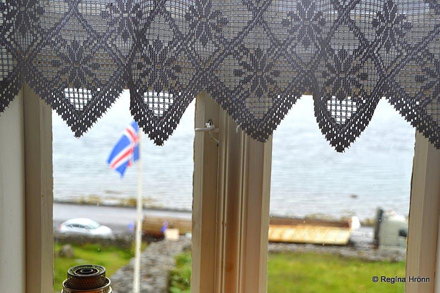 Litlibær turf house in the Westfjords of Iceland inside