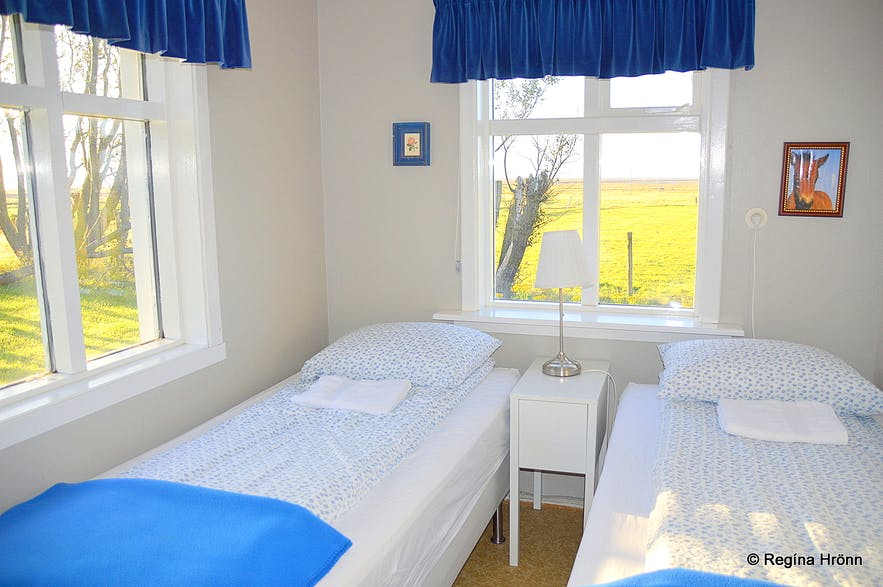 Hamrafoss guesthouse at Síða