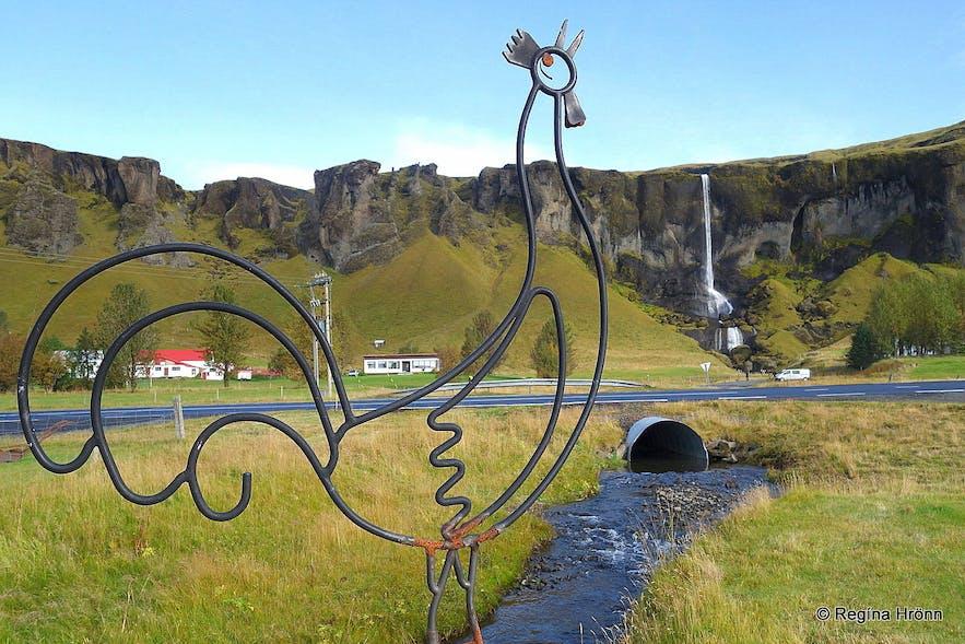 Hamrafoss at Foss at Síða