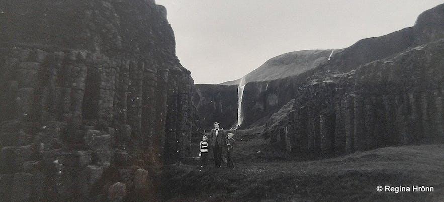 Dverghamrar in South-Iceland back in 1971