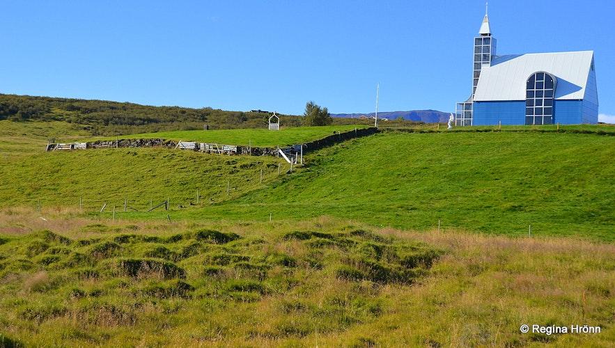 Ruins at Úthlíð Iceland