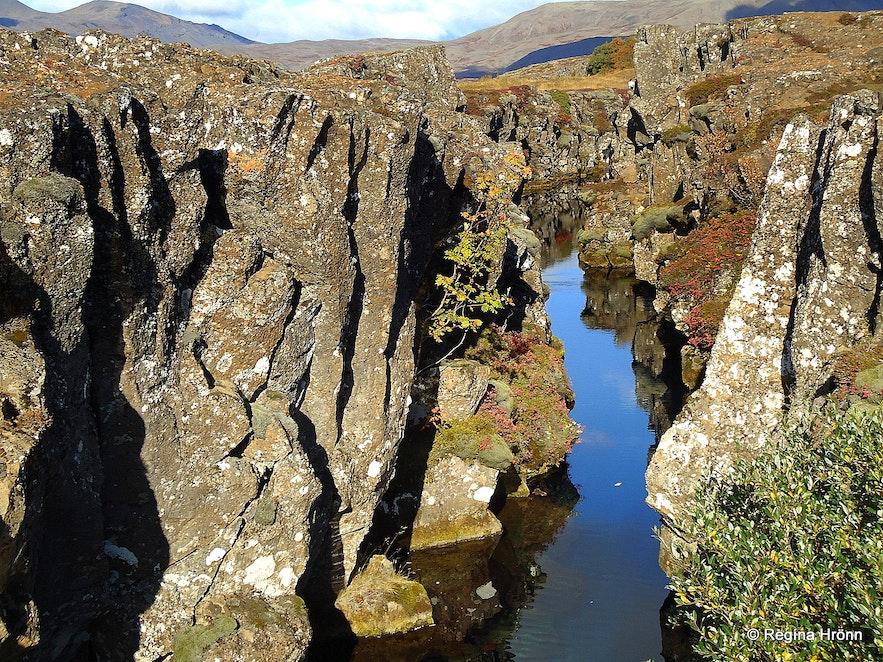 Þingvellir national park Nikulásargjá