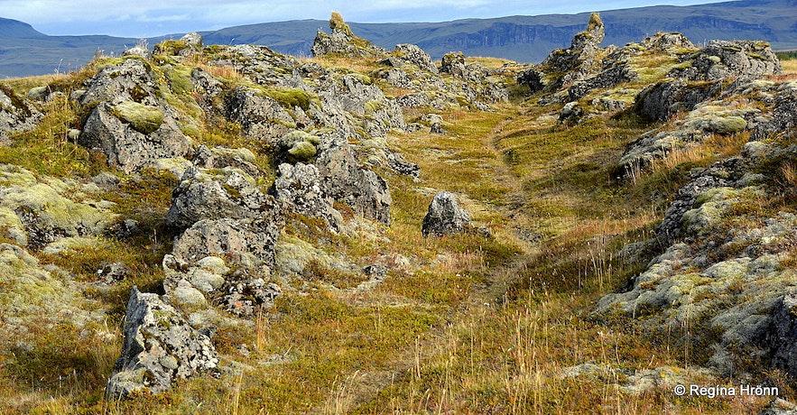 The Elf-city at Efri-Vík South-Iceland