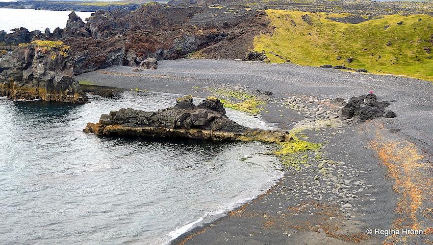 Dritvík cove Snæfellsnes