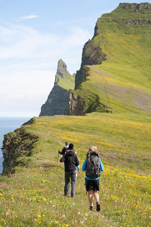 Hornstrandir is a wonderful region for hiking.