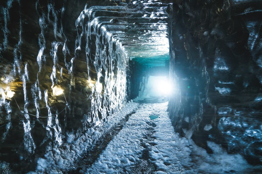Langjokull has a natural ice cave as well as its Ice Tunnel.