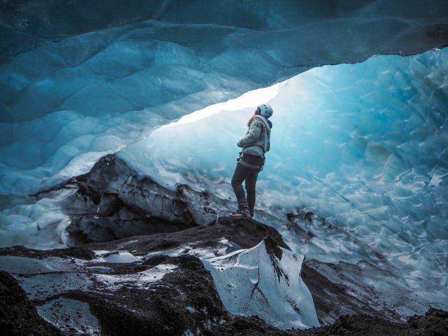 Sólheimajökull glacier is great fun to hike.