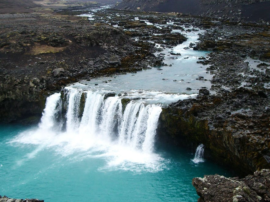 Thjórsá is Iceland's longest river, running a full length of 230 km.
