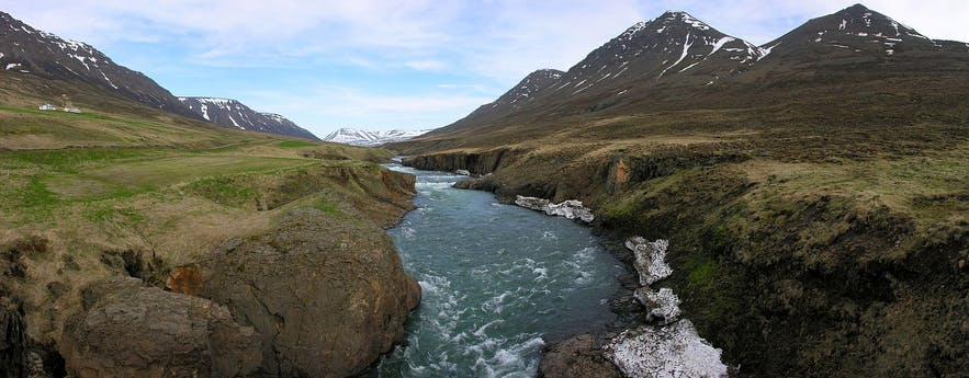 Fnjóská is best known in Iceland for fly-fishing.