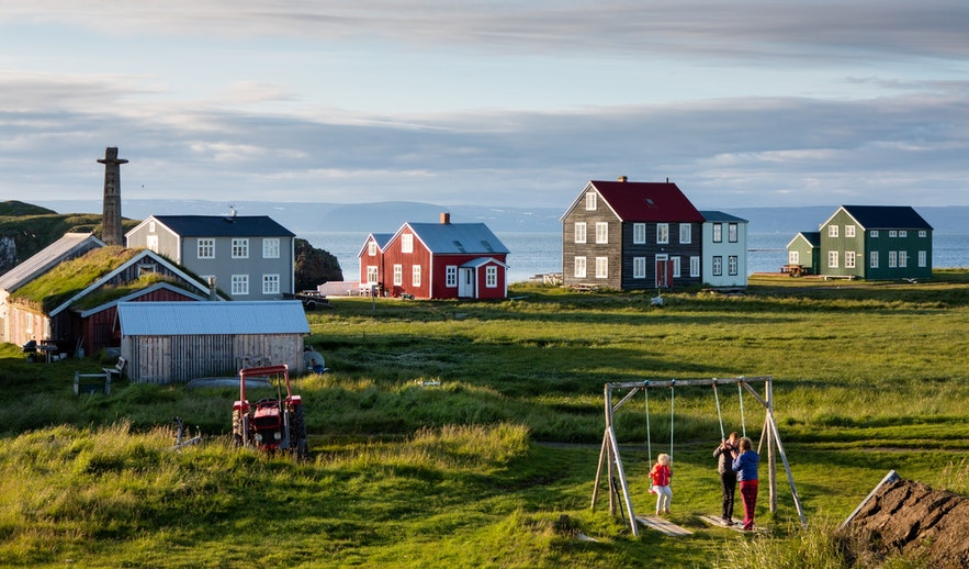 Flatey Island is one of Iceland's most beautiful islands.
