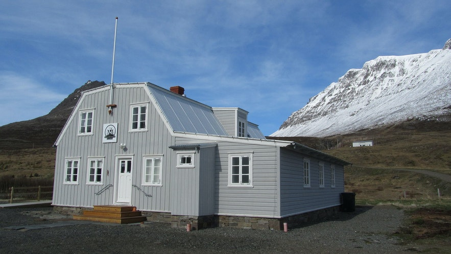 The Arctic Fox Centre in the Westfjords.