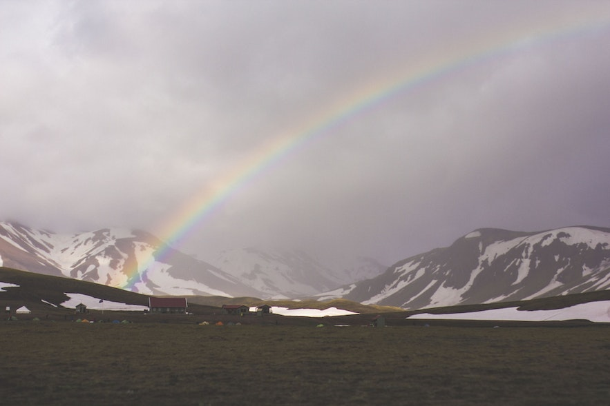 Reykjavik's rainbows represent more than nature; the city has two Pride weeks.