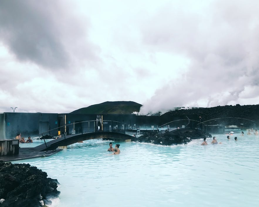 With Spring on the way, Icelanders begin to use the outdoor swimming pools more regularly.