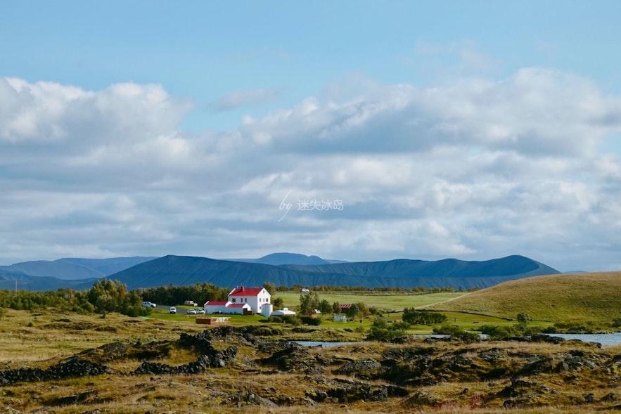 冰島Hverfjall 火山口