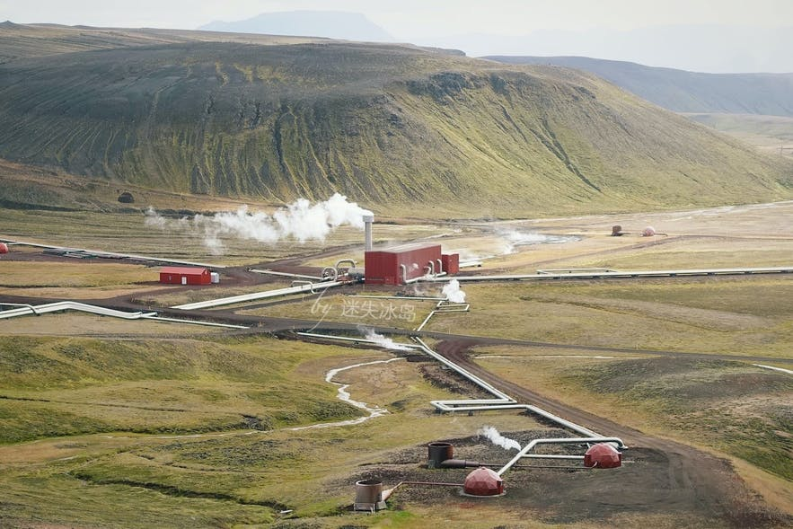 冰岛米湖克拉夫拉火山