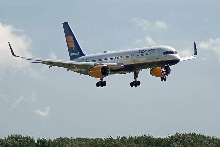 Icelandair flies regularly to Iceland.