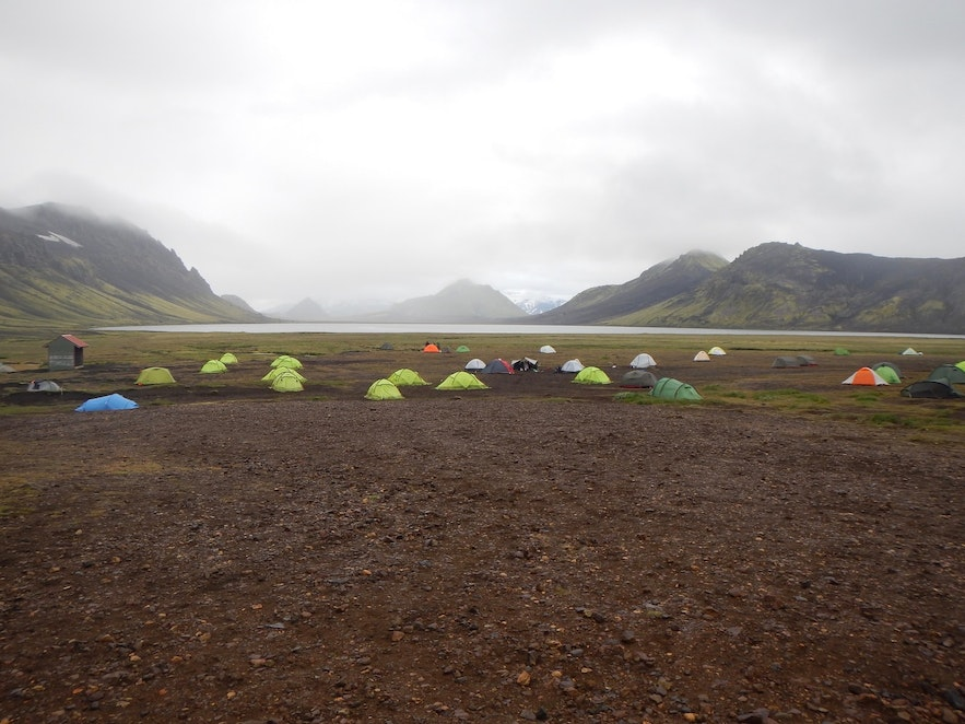 Not only are campsites in Iceland beautiful, they also allow you to meet and socialise with other travellers.