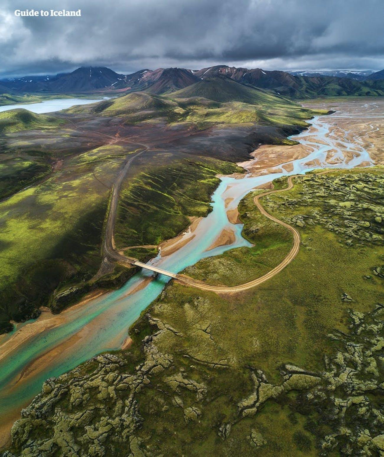 Krajobrazy Islandii są fantastyczne do odkrywania na piechotę.'s landscapes are fantastic to explore on foot.